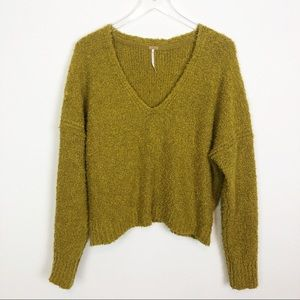 Free People V -Neck Sweater